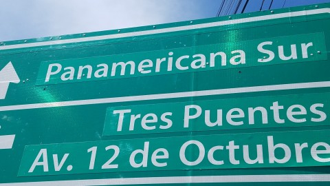 South to the Pan American Highway
