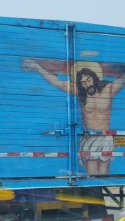 Peru truck art