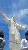 White Christ overlooking Cusco