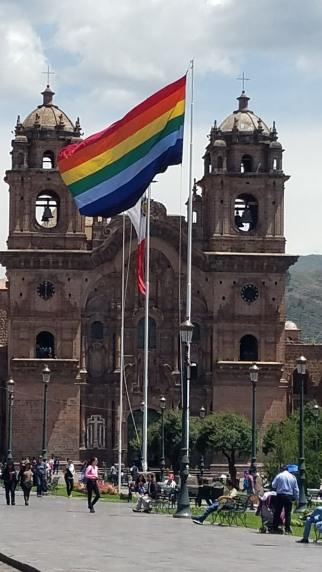 City square Machu picchu