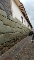 Many Spanish Colonial buildings are built of Inca ruins in Machu Picchua