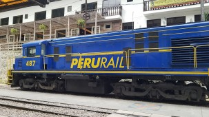 Peru Rail and Inca Rail are the two trains that offer service to Machu Picchu. We splurged a little and took the first class service.