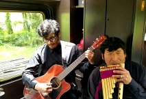 Live music on Inca Rail