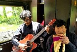 Live music on Inca Rail